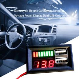 Yeni Evrensel LCD Dijital Voltmetre Motosiklet Araba 5 V Pil Dedektörü Göstergesi Gerilim Test Cihazı Monitör nereden