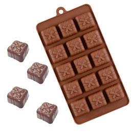 Boîtes à cadeaux de pâtisserie en Ligne-Boîte de cadeau Forme Moule Pour Savon De Bonbons Au Chocolat Gâteau À La Glace Décoration Outils Non-toxique Anti-Adhésif Batterie De Cuisine Pâtisserie Outils Cuisine Outil Ustensiles de Cuisson