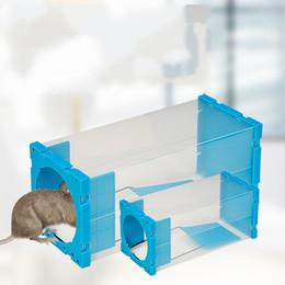 Ratos de armadilha on-line-Casa De Plástico Transparente Conveniente Mousetrap Escritório Cozinha Armazém Durável Rato Armadilha De Vedação Forte Montar Mousetraps Venda Quente 9 1sdD1