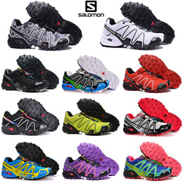 New Salomon3 Speedcross CS 3s men women Running Shoes Speed cross mens trainers Athletic outdoor sports Sneakers hiking size 36 46
