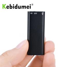 disco flash del lettore mp3 Sconti kebidumei 8G Mini registratore vocale audio digitale MP3 Music Player Dittafono Stereo 3 in 1 8 GB di memoria Memoria USB Flash Disk Drive