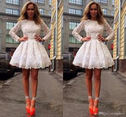 2019 пачки для девочек Новейшие разработанные кружевные платья с длинными рукавами для выпускного вечера Мини короткие 8 выпускные вечерние платья Сладкие 16 платьев vestidos