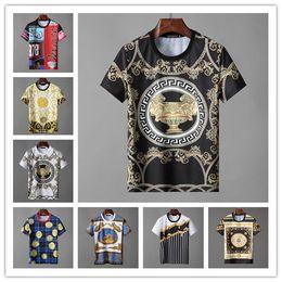 7f4cb862223 2019 fashion summer italy mens T-shirt Designer luxury Brand short sleeve  print big letter t shirt Tee Casual cotton round neck Top tshirt