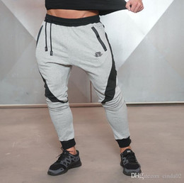 Different 2019 Long Short Sports Fitness Pants Stretch Cotton Men s Fitness  Jogging Pants Body Engineers Jogger Outdoor Men Clothing f3fda08c4