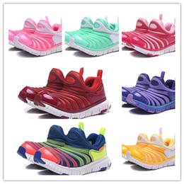 Deutschland Mit Box Unisex Kids Dynamo Free Running Schuhe für Jungen Turnschuhe Mädchen Athletic Child Chaussures Kinder Sport Teenager Walking Größe 22-35 supplier teenager shoes Versorgung