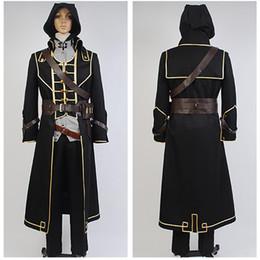 PROMARE Lio Fotia Mad Burnish Cosplay Costume Black Leader Outfit Suit Uniform