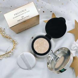 Polvere d'avorio online-HOT Brand Makeup PRE-STIGE LE CUSCINO FOND DE TEINT ROSE Fondotinta BB / CC Viso in polvere 010 # Avorio 020 # Beige chiaro