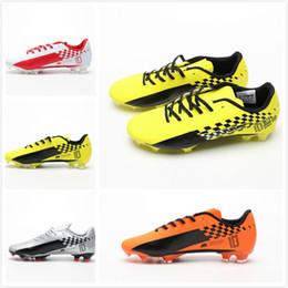 2019 botas cristianas ronaldo naranja Zapatillas de fútbol para hombre 12 FG AG Zapatillas de fútbol para hombre Naranja Verde Púrpura Rojo Zapatos de fútbol para hombre Zapatillas de deporte para hombre Chaussures Tamaño 39-45