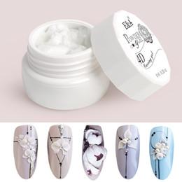 modelage de peinture Promotion 3d uv EA 24 couleurs Modeling Vernis à ongles Art Design Peinture Nail professionnelle Gelpolish UV Gel 3D Sculpture Vernis