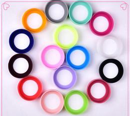Ps caps online-Neue Mischfarbe Bottom Protective Cover Cap Gummi Cup Sleeve Silikon Untersetzer für vakuumisolierte Edelstahl Travel Mug