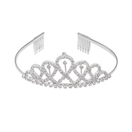 special hair accessories Promo Codes - 1pc Bridal Crown Special Cross-shaped Crystal Headwear Hair Jewelry Hair Accessories for Evening Party Wedding Pageant
