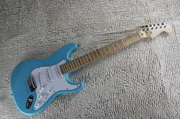 guitarra do céu Desconto Frete grátis 2019 New Arrival NA VENDA F Azul Stratocaster Sky personalizado bordo corpo fingerboard da guitarra elétrica em stock
