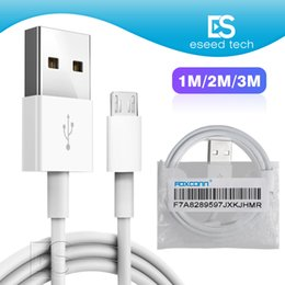 Adaptador de micros online-3 pies 100 cm calidad Foxconn chip de fábrica Cargador de datos Cable USB cable adaptador micro usb tipo-c cable Para Samsung LG todos los teléfonos
