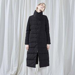 Inverno 2019 nuove signore cotone PIUMINI Femminile lungo casuale Red parka Zipper libero nero diritto bianco Warm Thick Parkas