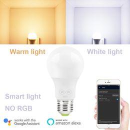 apenas inteligente Desconto 6. W E27 WiFi Inteligente Lâmpada Lâmpada LED NO RGB Luz Branca e Aquecer Trabalhar Apenas com Alexa e Google Assistente de homekit