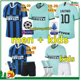 football inter milan Promotion Thaïlande Maillot de football inter ICARDI LAUTARO Martinez SKRINIAR 2019 maillot de foot Inter Milan Hommes Enfants PERISIC NAINGGOLAN POLITANO maillot de champion inter milan 18 19 kit de football