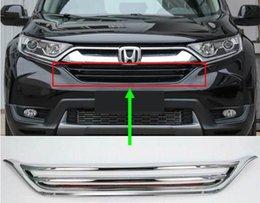 Honda crv abs online-ABS Chrom Kühlergrill für 2017 Honda CRV 2018 CR-V Kühlergrill