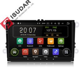 Argentina Isudar Car Multimedia Player 1 Din Android 8.1.0 DVD Automotivo Para VW / Volkswagen / POLO / PASSAT / Golf / Skoda / Octavia / Seat GPS Radio Suministro