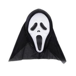 Vestido de plástico vestido online-Fiesta de Halloween Máscaras faciales disfraces Disfraz de adulto Accesorio Máscara plástica cosplay fiesta