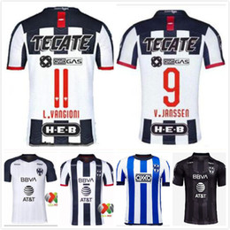 Casa monterrey online-19 20 CF Fútbol Monterrey edición conmemorativa de fútbol jerseys Monterey D. PABON R. Funes Mori Inicio Especial camisas Camisetas de Fútbol