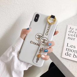 caso do olho do desejo Desconto Com suporte do telefone móvel top designer de luxo casos de telefone padrão para iphone x xs max xr 6 6 s 7 8 plus phone case
