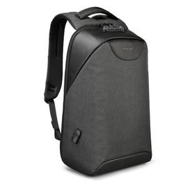 e131062b14f6 Tigernu Anti theft Male Laptop Backpack USB Waterproof School Bags for  Teenager Men Backpacks NO Key TSA Lock School Mochila