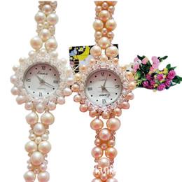 Bracelet en diamant améthyste en Ligne-2019 nouvelle mode femme incrustée de diamants montre améthyste naturelle bracelet montre montres à quartz