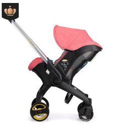 Passeggino 3 in 1 con seggiolino auto Landscope alto pieghevole Carrozzina per bambino da 0-3 anni Carrozzine per neonati da