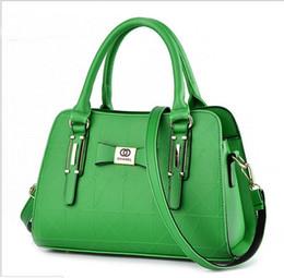 Borsetta del compartimento delle signore online-Ladies New Design Green Borsa a tracolla Moda donna Borse a tracolla Scompartimento interno Borse di lusso Borse Alta qualità