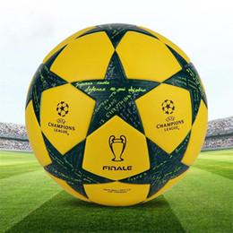2019 champions league ball Freundlich offizieller Fußball der Qualitätsmeister-Liga für Trainingsfußball-PU-Standardfußball der Spielfachmanngröße 5 geben Verschiffen frei günstig champions league ball