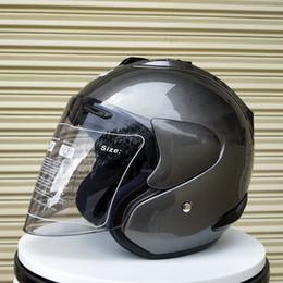 шлемы arai Скидка 2019 Арай Р4 топ горячая 3/4 шлем мотоциклетный шлем половина шлем открытым лицом шлем кроссовый размер: S М L ХL ХХL,лошади