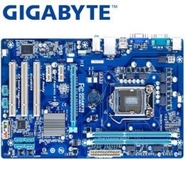 2019 placas base de fru GIGABYTE GA-H61-H61 S3 escritorio placa madre socket LGA 1155 i3 i5 DDR3 16G ATX original H61-S3 Usado