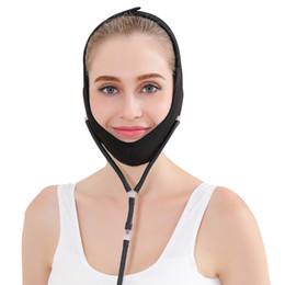 Маскирующий снотворный онлайн-Подтяжка лица Надувная Маска V-образный Артефакт Мелкослойный Пластиковый Тип Давление воздуха Спящий Прилипающий Подтягивающий Бандаж для Лица