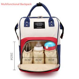 maternité sacs Promotion Sac à langer multifonctionnel pour bébé Sac à langer pour maman Sac à dos pour maman Sac à dos pour mère avec sacs à dos de maternité avec sangles pour poussette