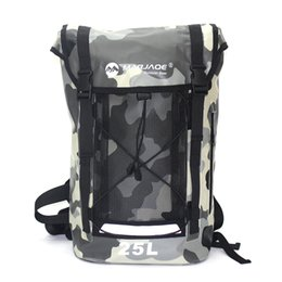 3a1037fb7be4 25L Sports Swimming Waterproof Dry Backpack Bag For Men s PVC Impermeable  Water Proof Ocean Hiking Backpack Bag Pack Sporttas