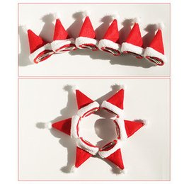 hats short hair Coupons - Christmas Hat Non Slip Hair Clip Hairpin For Kids Girls Women Beauty Party Festive Decoration Fashion 3D Santa Claus