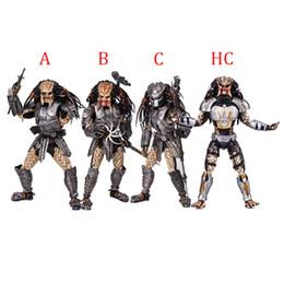 """7pcs set  3.75/"""" Alien Vs Predator Predator New No Box"""