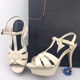 Il merletto lega i tacchi alti online-Scava fuori i tacchi a spillo sexy le nuove donne di modo cross-tied tacchi sottili partito scarpe donna pompe sandali lace up tacchi alti di grandi dimensioni 34-41
