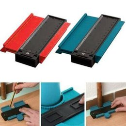 marquage plastique Promotion Copie de profil en plastique, duplicateur de jauge de contour de jauge standard, outil de marquage du bois de 5