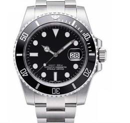relojes automáticos para hombres Rebajas Bisel de cerámica de los hombres mecánicos SS Negro 2020 de lujo 2813 Movimiento automático diseñador de relojes de moda para hombre Relojes de pulsera deportivo de los hombres