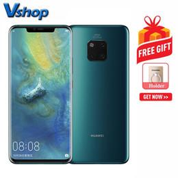 Wholesale Huawei Mate Pro GB GB Version Chine Appareils photo à dos triple Batterie mAh Identification du visage D pouces EMUI9 Android Émeraude