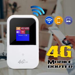 2019 freischaltete mobile hotspot 4g 4G LTE WIFI Wireless Mobiler Hotspot LCD Router Modem Breitband 150Mbps Unlocked- günstig freischaltete mobile hotspot 4g
