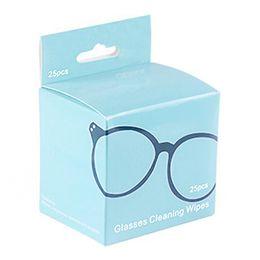 kits de limpeza de lentes de câmera Desconto 25 Pcs Toalha de Limpeza de Câmera Toalhetes Pré-Umedecidos Teclado Óculos Lente Limpa