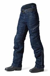 Pantalones gratis online-ENVÍO GRATIS de calidad superior pantalones de motocicleta pantalones de carreras Motocicleta que monta pantalones vaqueros pantalones de carreras de motocross pantalones de bicicleta