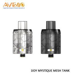 2019 clone kayfun mini v3 Atomizzatore monouso originale IJOY Mystique Mesh Tank da 3 ml con capacità per IJOY Mystique 162W Box Mod 3pc / pacco