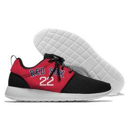 media player price Coupons - Pitchers 22 Porcello Hot sale Men women Bos sox player numbers 10 Price 41 Sale 76 Velázquez 57 Comfortable Red Mesh fabric canvas shoes