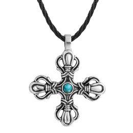 2019 hermoso colgante de cruz Noruego minimalista hermoso collar cruzado colgante cristiano eslavo miembro collar eslavo rebajas hermoso colgante de cruz