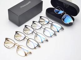 6ce513ba9 chrome glasses frame clear lense mens womens glasses myopia eyeglasses  Retro oculos de grau men and women eyeglasses frames 113