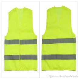 ropa de trabajo Rebajas Alta visibilidad Seguridad en el trabajo Construcción Chaleco Advertencia Trafico reflectante en el trabajo Chaleco Verde Ropa reflectante de seguridad