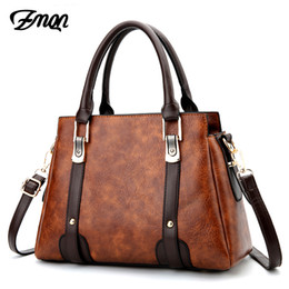 2169794359a ZMQN 9 colors women handbags vintage shoulder bags for women pu leather  solid bags lady handbag china famous brand hand bag C655